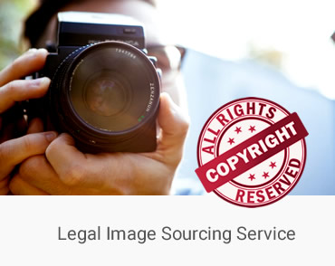 Sourcing images that are free, custom designing graphics, licensed images.